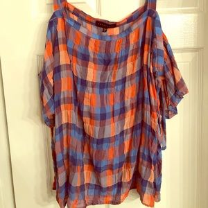 Plaid Sanctuary Blouse